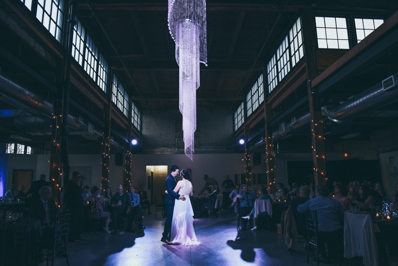 first dance at a reception