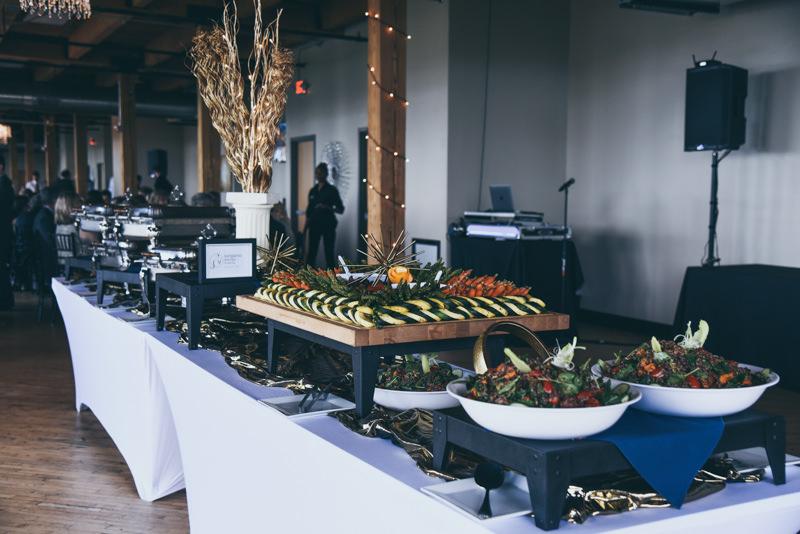 kangaroo kitchen wedding buffet