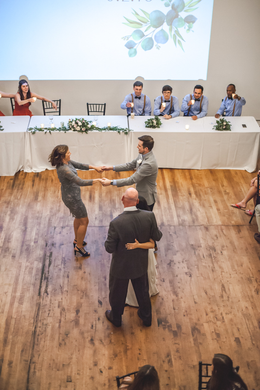 special dances with parents at a wedding reception