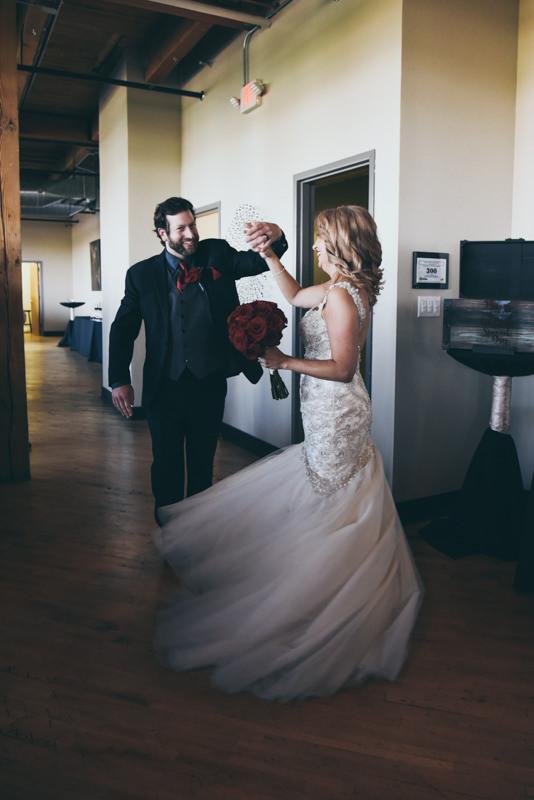grand entrance at a wedding reception